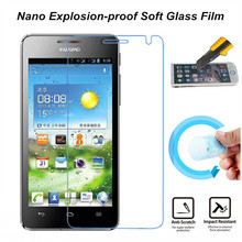 Nano Explosion-proof Soft Glass Protective Film Screen Protector for Huawei U8950 U8950D G600 U9508 T8950 C8950D Honor 2