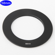 Camera Lens Adapter Ring 58mm Metal for Cokin P Series Gradient Square Filter Holder Mount