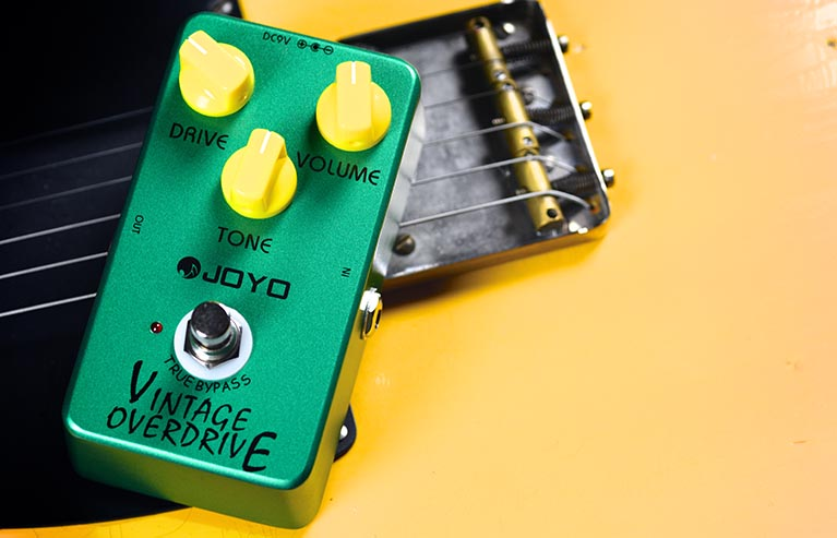 Joyo JF-01 Vintage Overdrive Guitar Effect Pedal with Free Pedal Case<br>