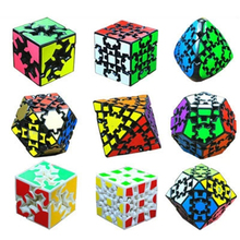 Keychain Magic Cube 3x3x3 Speed Cube Stickerless Mini Classic Toys For Kids Children Educational Toy Neo Cubes 70B1043