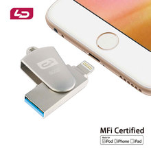 LD Flashdrive 16GB 32GB 64GB Micro Usb Pen Drive Lightning/Otg Usb Flash Drive For iPhone 5/6/7/7 Plus/ipad ipod Memory Stick