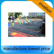 rfid sport timing suppliers floor systems high gain 10dbi uhf rfid antenna passive mat + alien h3 chip shoes/number bib-tag(China)