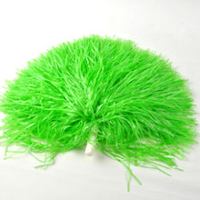 100g 10pcs Plastic PE Cheerleading Pompom Cheerleader Pom Pom For Sports Match Dance Red Blue Green White Black Yellow Purple