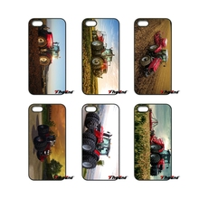 For iPod Touch iPhone 4 4S 5 5S 5C SE 6 6S 7 Plus Samung Galaxy A3 A5 J3 J5 J7 2016 2017 Fashion Massey Ferguson Tractors Cover(China)