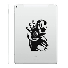 "Fighting Ironman Laptop Decal for iPad Decal Air 9.7"" / mini 7.9"" / Pro 12.9"" Tablet PC Macbook Sticker Notebook Partial Skin"