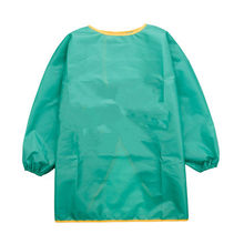 1pcs Baby Kids Apron Cleaning Long Sleeve Waterproof Art Smock Children Bib ApronV2-5YEARS OLD