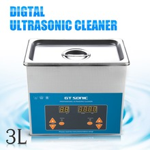 Clerance VGT-1730QTD 3L Digital Ultrasonic Cleaner Bath For Electronic Components Jewelry Glasses Circuit Board Cleaning Machine(China)