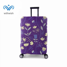 "Thick High Elastic Travel Luggages Protective Cover S/M/L/XL 4 Sizes 4 Styles Optional Fit for 18"" to 32"" Trolley Case Perfectly"
