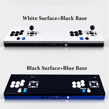 New Arcade Joystick Ultra Thin Metal Arcade Gaming Box Double Stick Arcade Console Plug In 680 Home Video Arcade Games Machine(China)