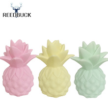 2017 Newest Lamp Ananas Led Nightlights Yellow Pineapple Night Lamp Baby Pillow Children Bedside Decorate Led Light Table Lamps