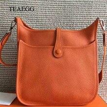 406012832ed3 Female Cow leather Casual Tote 30CM Evelyne H Litchi Grain Women s handbag  Clemence leather shoulder bag