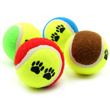 High quality Pet Dog Cat Toy Vogue Tennis Balls Run Catch Throw Play Funny Chew Pets Toys Pet Product #TX(China)