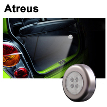 Atreus 1X Car Styling Interior LED Grille Reading Lamp Decoration Accessories Sticker for Ford focus 2 3 Lexus Toyota Corolla
