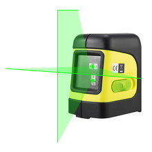 Firecore F112G 2 Lines Green Laser Level Self Levelling ( 4 degrees) Horizontal and Vertical Cross-Line Mini Laser(China)