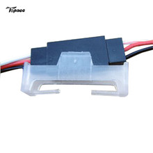 Free shipping Servo Extension Cord Fastener Plug Fixed Block Transparent for RC Helicopters Drone Parts