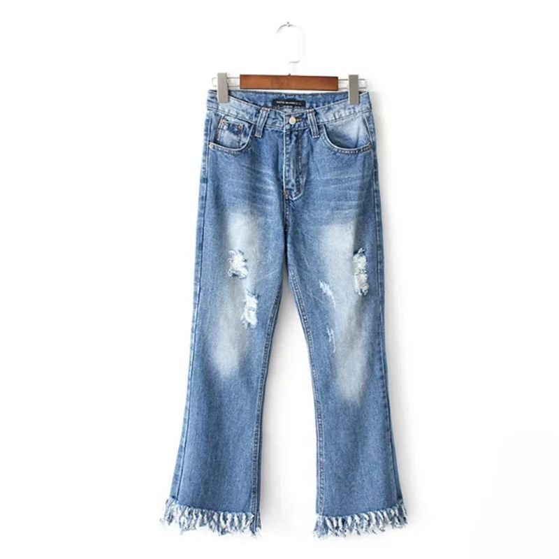 Boyfriend Jeans For Women 2017 Summer Basic Styles Vintage Distressed Regular Ripped Stretch Harem Denim Pants Woman Jeans TC023Одежда и ак�е��уары<br><br><br>Aliexpress