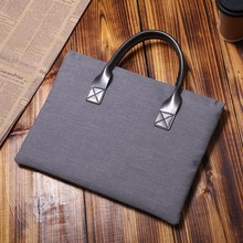 "Gray 11.6""13.3""15.4""15.6"" Inch Laptop Shoulder Sleeve Bag For Macbook Air Pro Retina ASUS ACER HP DELL Lenovo Notebook Case"