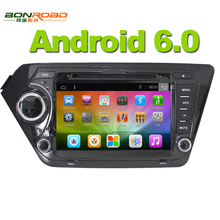 Android 6.0 2G RAM 16G Flash Quad Core 1.6G*4 2din In dash Car Radio GPS Navigation Video Player for Kia Rio K2 (2011-2015)