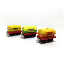 T0146 new diecast magnetic Thomas & Friends alloy sodor orchard apple cider transport Tanker trucks  sodor fuel three trucks