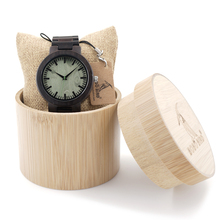 BOBO BIRD C29 Mens Top Brand Design Watch Men Green Wood Dial Full Bamboo Wooden Quartz Watches for Men in Woob Box Dropshipping