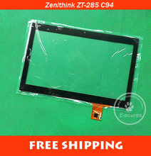 "New Original 10.1"" inch Zenithink ZT-285 C94 tablet Touch screen digitizer glass touch panel replacement Sensor Free Shipping(China)"