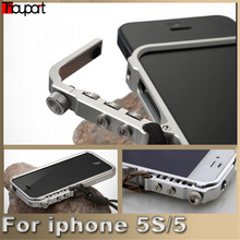 For iphone 5S case Man Super Arm Aluminum Metal Bumper for Apple iphone 5 case iphone SE cover Frame For iphone5S phone cases