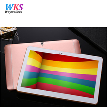 Free shipping 10 inch tablet pc 4G LTE Android 6.0 octa core 4GB RAM 64GB ROM 5MP IPS Bluetooth dual SIM card GPS Tablets pcs(China)