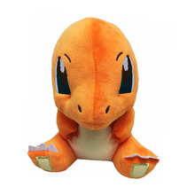 "2017 Free Shipping 12""30cm Charmander Plush Toy Red Dragon Plush Toys For Girls Gifts"