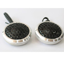 ZYHW Brand 2pcs 35w Dome Tweeter Car Speaker Audio 92db black Car Sound Device GQ-0022(China)