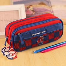 New High Quality Big Pen Curtain Multifunctional Pencil Case Super Large Capacity Stationery Boys Bags Box school supplies 04853(China)