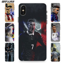 BiNFUL football player messi cr7 neymar style hard White phone Case Cover for Apple iPhone 6 7 7Plus SE 6sPlus 5 5s X 8 8Plus(China)