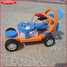 New scientific experiment set of electric vehicles and amphibious vehicles for children car toys free shipping