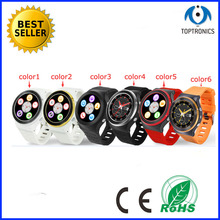 2016 top quality wifi 3g watch Smart android bluetooth watch support IOS android gps phone watch with Heart rate monitoring