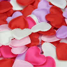 500pcs/lot Wedding throwing petals marriage bed and marriage room decorate adornment decorates wedding flower heart