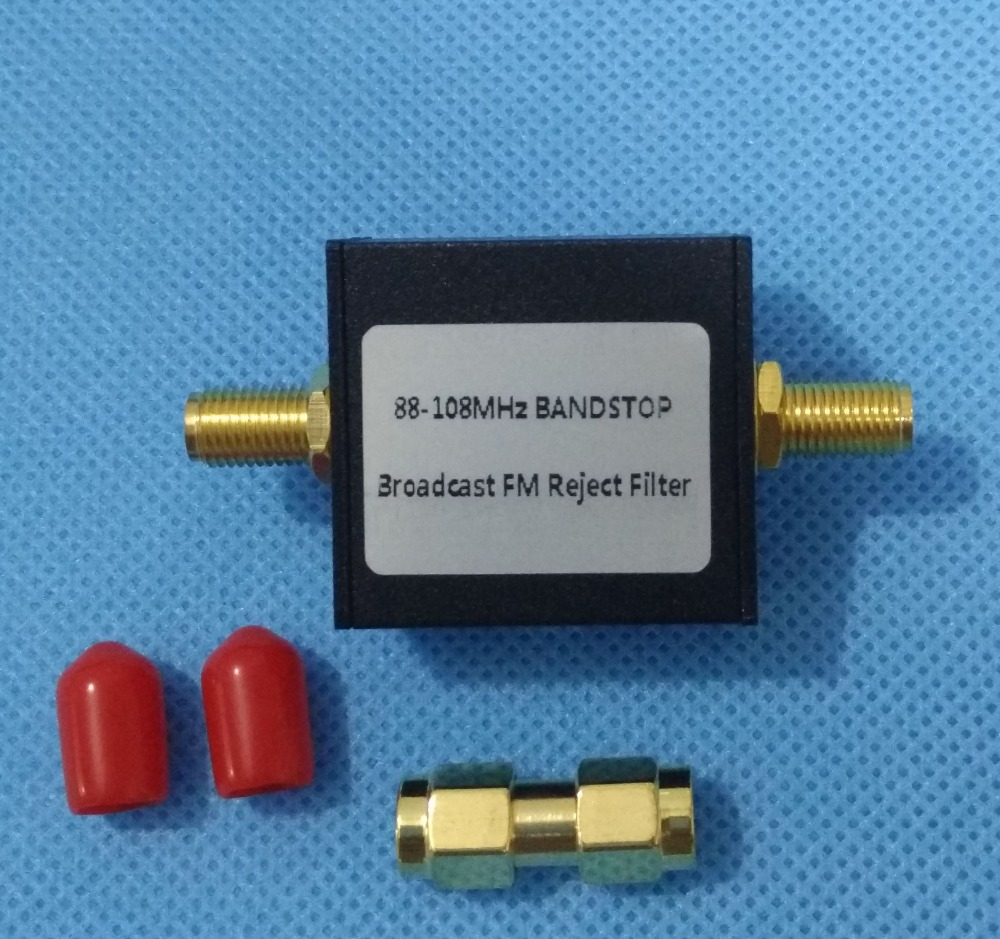 1pc 88-108M Band Stop Filter Passive Notch Filter Anti-Fm Interference Filter