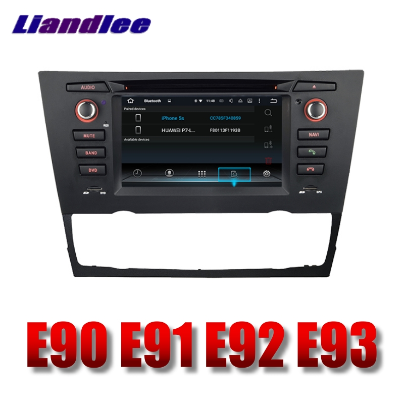 Liandlee Car Multimedia Player NAVI For BMW 3 E90 E91 E92 E93 2005~2013 With DVD BT Car Radio Stereo GPS Navigation Touch Screen 7