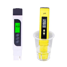 Automatic calibration Accurate 0.01 PH Meter TDS EC LCD Water Purity PPM Filter  Aquarium Pool Teste