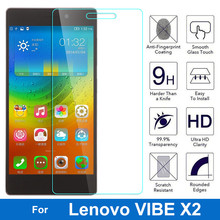 For Lenovo VIBE X2 Tempered Glass Original High Quality Protective Film Explosion-proof Screen Protector for VIBE X2 cell phone(China)