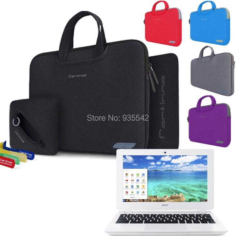 Brand New 4 in 1 Laptop Sleeve Notebook Bag Handbag Case For Acer 11.6 Chromebook CB3-111-C670 / C720/ C72P Computer Women Bag<br><br>Aliexpress
