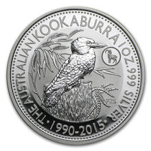 30% discount! One Piece Australia 2015 Kookaburra 1oz Silver Plated One Dollar Troy Ounce Coin(China)