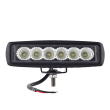 led day time running light spot offroad 18w LED worklight lamp 12V/24V Tractor 4x4 Motorcycle External Light bar