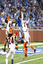 12939 Calvin Johnson - American Football NFL Megatron-Wall Sticker Art Poster For Home Decor Silk Canvas Painting(China)
