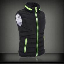 2017 New Winter Men's Casual Cotton Vest Youth Fashion Collar Vest Jacket Free Shipping Slim Couple Tide