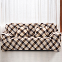 Sofa Covers European Style Print  For Living Room Cotton Strech 1/2/3 Seat Furniture Elastic Couch Cover Sofa Slipcovers Cheap