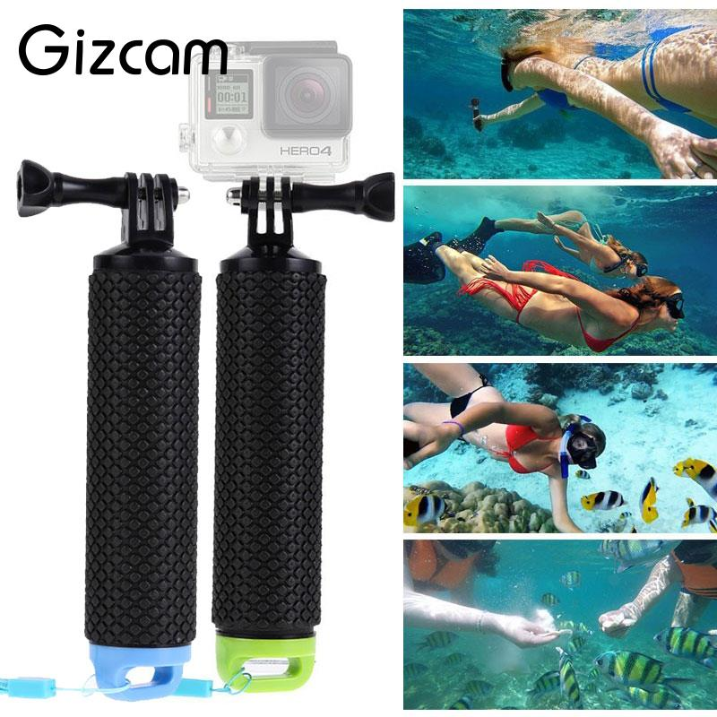 Gizcam Floating Bar Handheld Stick Monopod Floating Hand Grip Gopro Xiaomi Yi Action Cameras