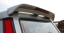 Osmrk unpainted ABS tail wing roof visor rear spoiler lip for mitsubishi freeca(China)