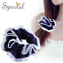 Special Brand Fashion Black & White Hair Pins Clips Silk Hair Accessories Summer Style Hair Jewelry Gifts for Women S1764H