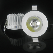 4pcs COB Driverless LED Downlight AC220V Driverfree IP65 Waterproof Bathroom Dimmable LED Ceiling Spot Light Lamp Free Shipping