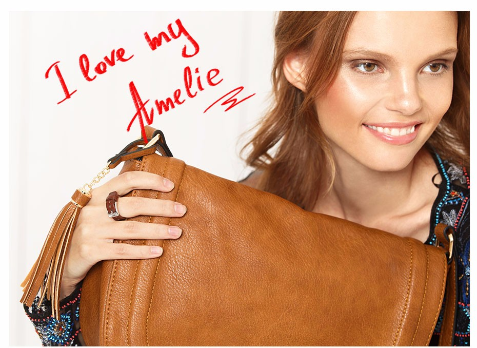 AMELIE GALANTI casual crossbody bag soft cover solid saddle fashion women messenger bags high quality shoulder bag for women (13)