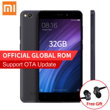 "Original Xiaomi Redmi 4A 4 A Pro Mobile Phone 2GB RAM 32GB ROM Snapdragon 425 Quad Core 5.0"" HD 4G FDD LTE 13MP Camera MIUI 8.1"